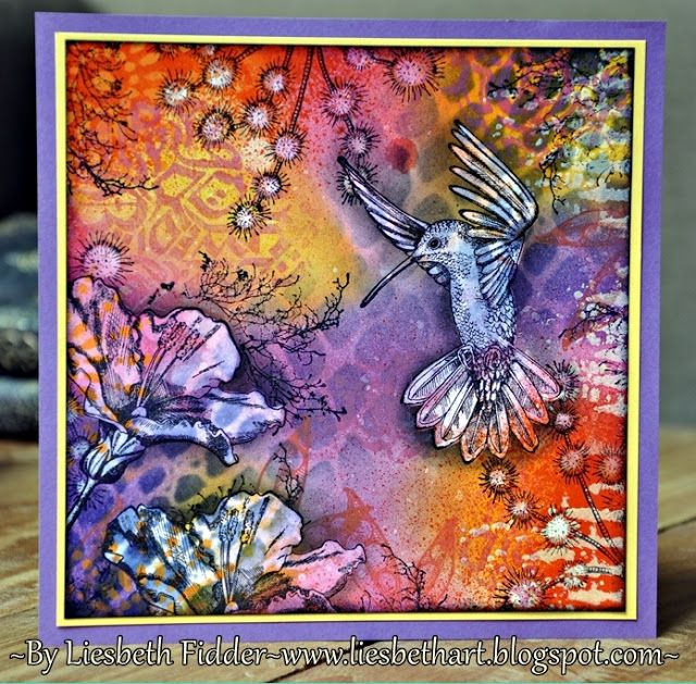 Liesbeth's Arts & Crafts: Kolibrie