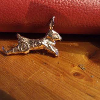 bronze hare, Emma Allott.