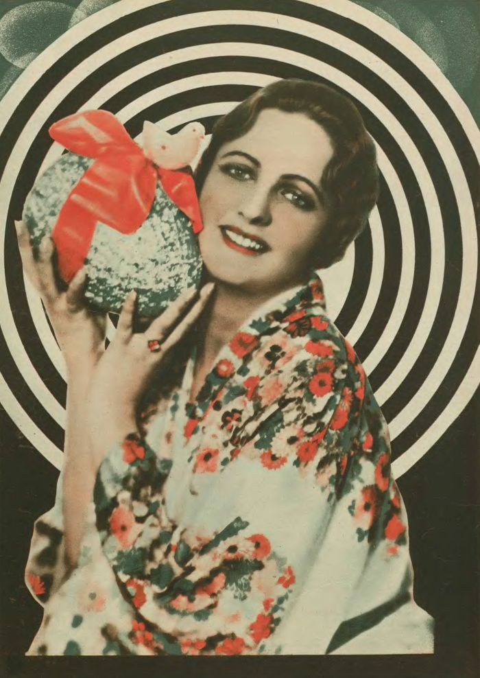 "lamus-dworski: "" Actress Jadwiga Smosarska in ""Kino"" weekly magazine, 1930 [source]. """