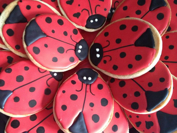 How to Make Ladybug Cookies [by Victoria]