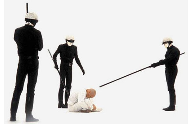 THX 1138, : George Lucas (1971) with Robert Duvall, Donald Pleasance, Sid Haig, Don Pedro Colley, Marshall Efron