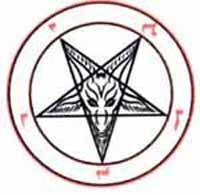 Satan Star Tattoo Designs satanic reds