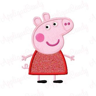 Pep Pig Applique