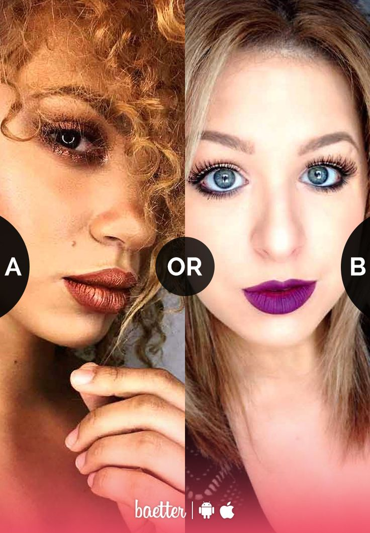 Which offbeat shade would you wear on your lips #CopperLipstick or #PurpleLipstick