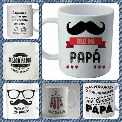 Tazas Dia Del Padre, Personalizadas Con Foto, Frases. - $ 55,00