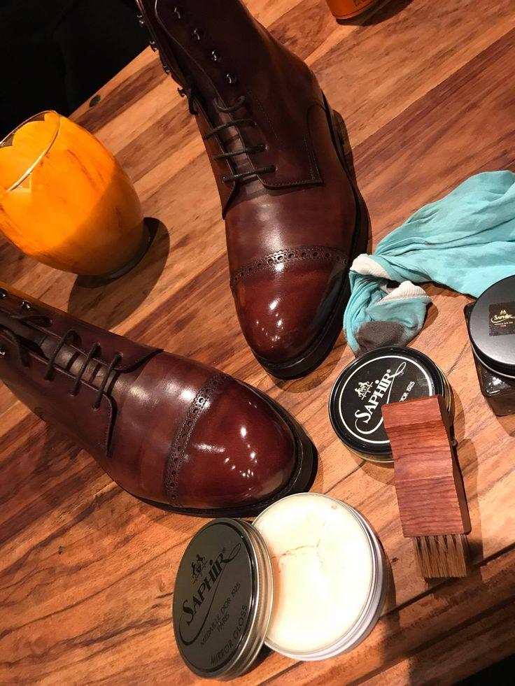 SAPHIR High Gloss WAX & Boots   https://patine.shoes