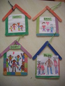popsicle-stick-house-craft | Crafts and Worksheets for Preschool,Toddler and Kindergarten