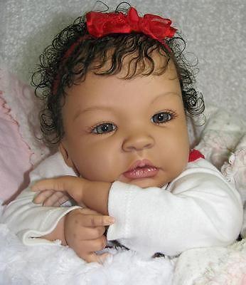 Reborn CUSTOM Biracial Caucasian or Ethnic Shyann Baby Doll DEPOSIT