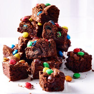 Brownies met MM's