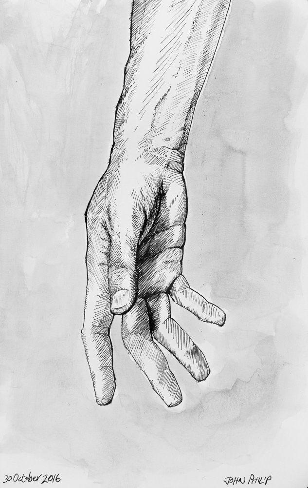 Day 30 - Ink Hands #inktober #inktober2016 http://www.johnphilip.co.za/?p=1458