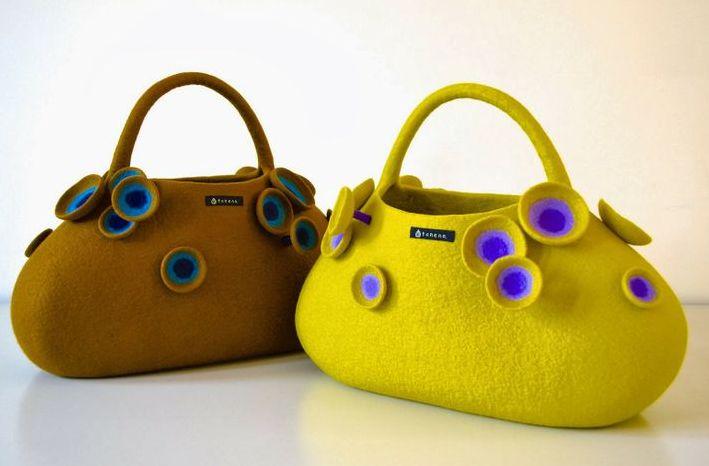 Дизайнерские валяные сумки Атзуко Сазаки. Обсуждение на LiveInternet - Российский Сервис Онлайн-Дневников