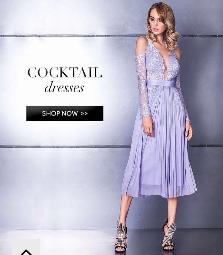 Midi silk tulle dress