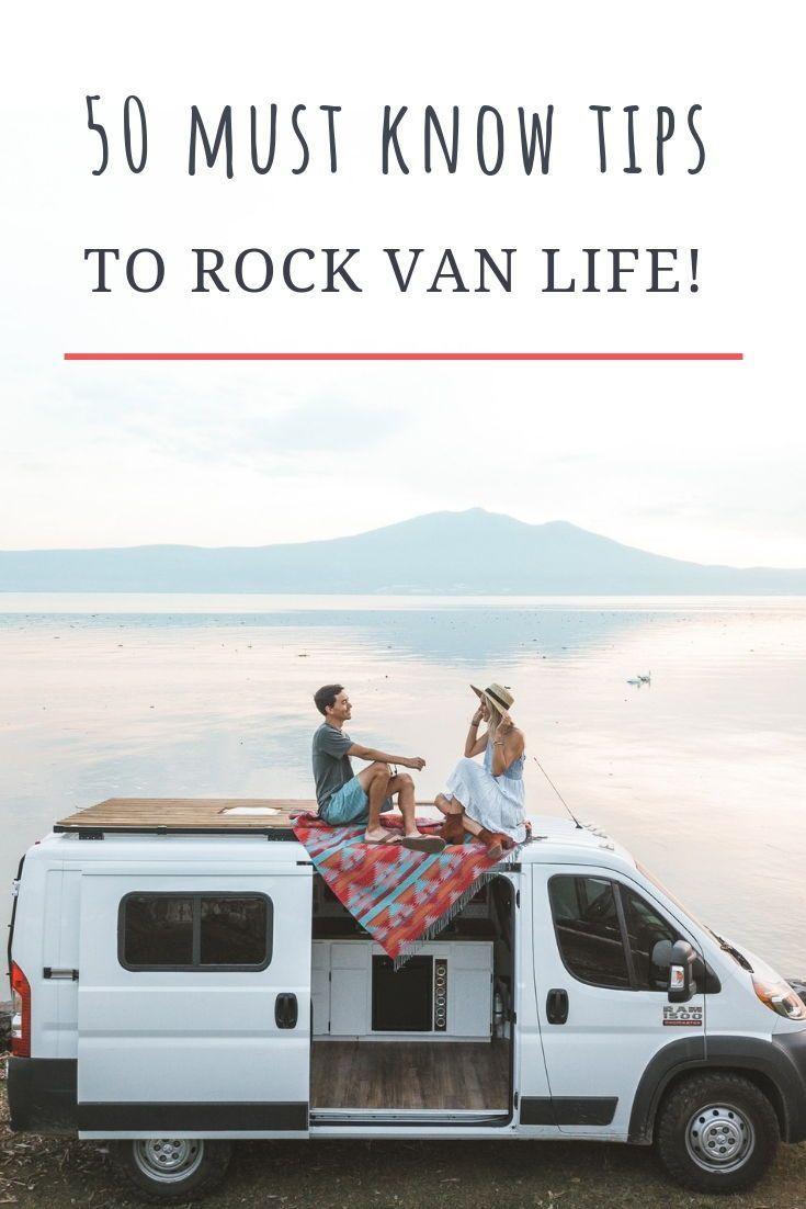 50 Tipps von Van Life für das Leben unterwegs