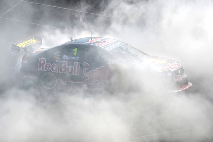 Jamie Whincup...burn outs