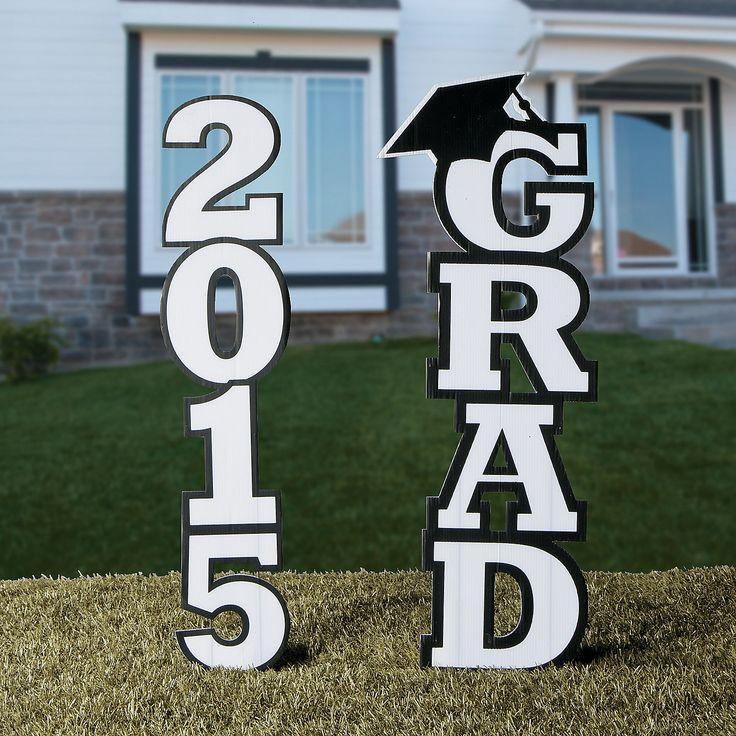 2015 Grad Yard Sign - OrientalTrading.com