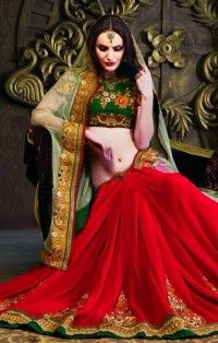 Buy Green Color Sarees USA Online Shopping