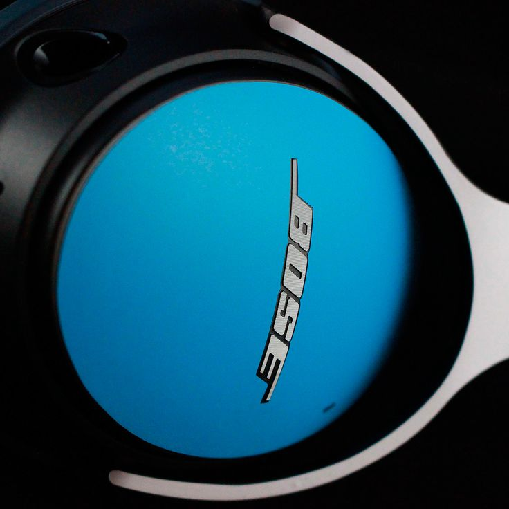 Bose QC25 - Matt Blue and White Skin