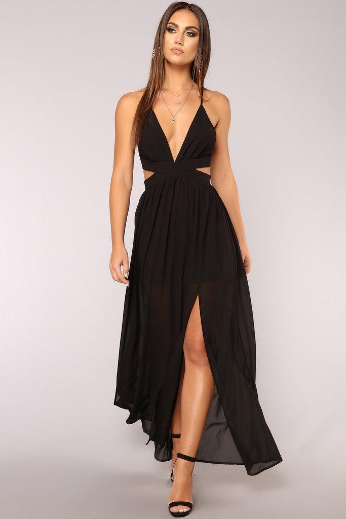 e0ce26a6fa4 Lanai Maxi Dress - Black