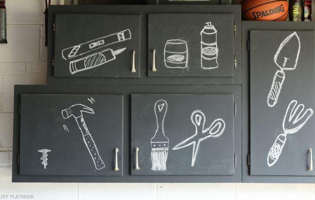 Chalkboard Cabinets - DIY Playbook