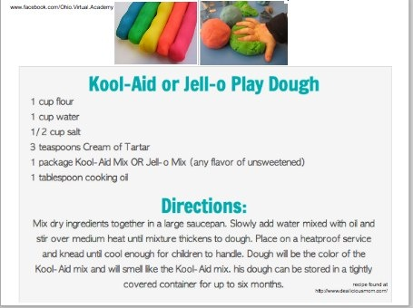how to make playdough with kool aid without cooking