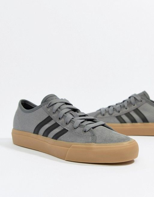 adidas Skate Boarding Matchcourt Rx Sneakers With Gum Sole Cute Sneakers 0c55f7b9b