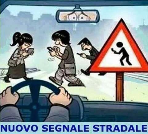 New segnale stradale