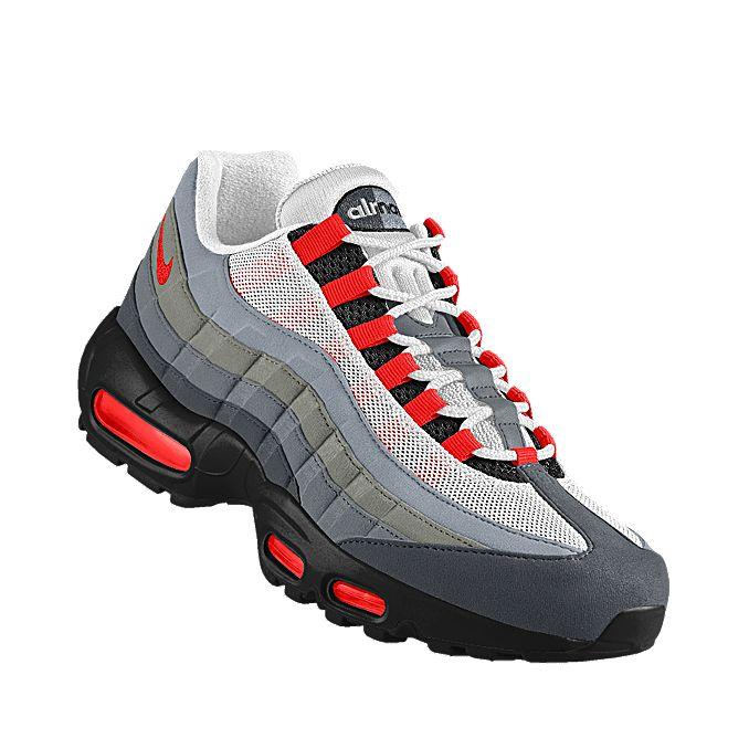 NIKEiD. Custom Nike Air Max 95 iD Shoe   Shoes, Nike air max 95 ...