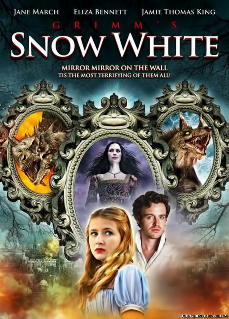 Grimm's Snow White. A poster from the 2012 movie release