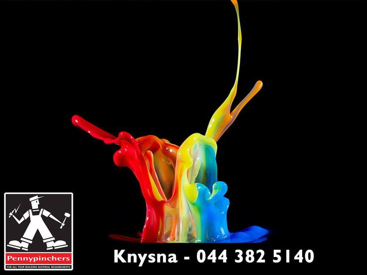 When painting your home, don't be afraid to play with colours. At #PennypinchersKnysna, we have a wide variety of paint and paint supplies. Visit us or contact us on 044 382 5140. #FridayFun