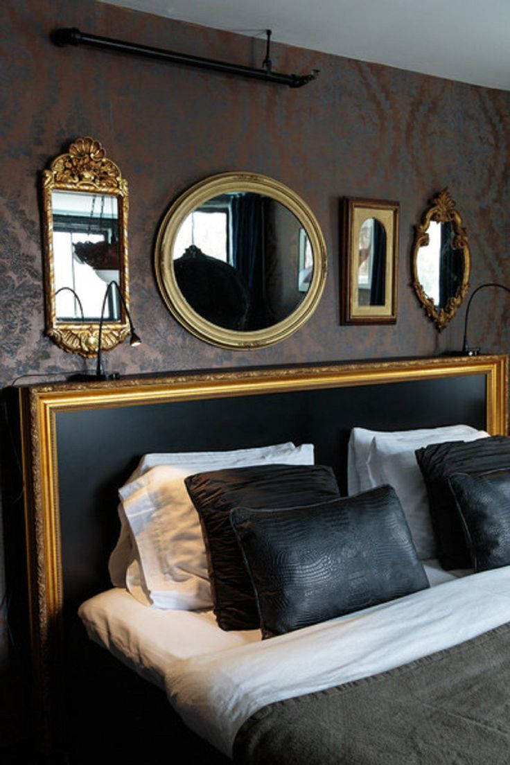 Hollywood Regency Style Bedroom Ideas