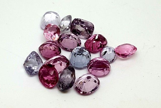 11CT SPINEL BURMA FACETED GEMSTONE LOT