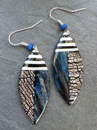 www.cewax.fr aime ces boucle d'oreilles kazachok2, Vert Cerise. Earrings made…