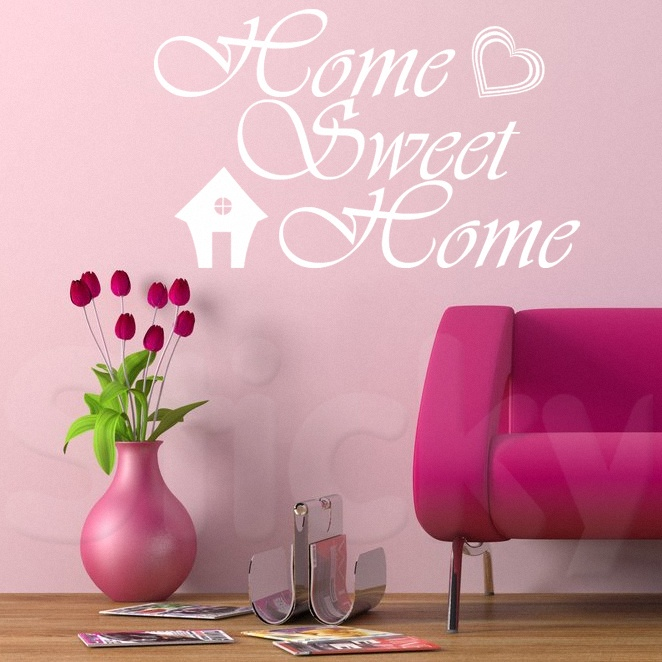 Wall Sticker HOME SWEET HOME by Sticky!!!