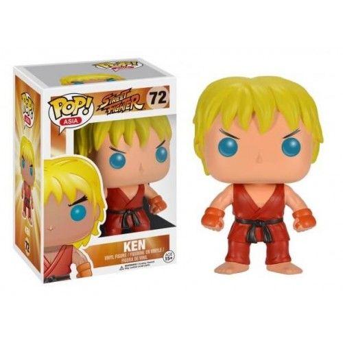 Funko Ken (First to Market), Street Fighter, Pop! Asia, SF, Games, Funkomania