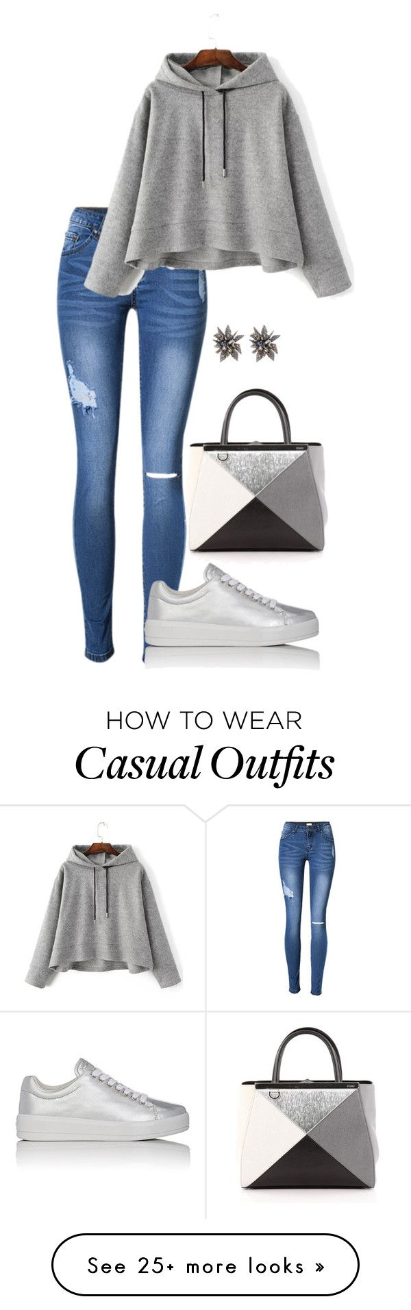 """Geen titel #250"" by shannenovaere on Polyvore featuring Prada Sport, Fendi and Alexis Bittar"