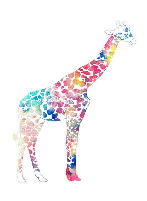 219 best images about Ink Art on Pinterest   Watercolors, Giraffe ...