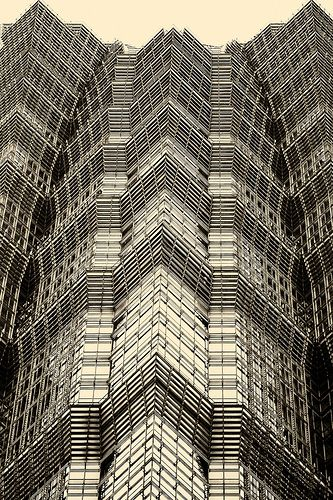 Shanghai architecture~ Jin Mao building detail~Explored! | Flickr - Photo Sharing!