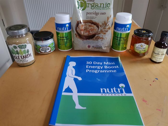 For me, this time of year signals the winter blues. The lack of sunlight and the cold bring lethargy and low moods. So it was fortuitous that I recently signed up to the 30 Day Energy Boost Programme from Nutri Advanced. They kindly sent me a free box full of products to help me boost my energy...