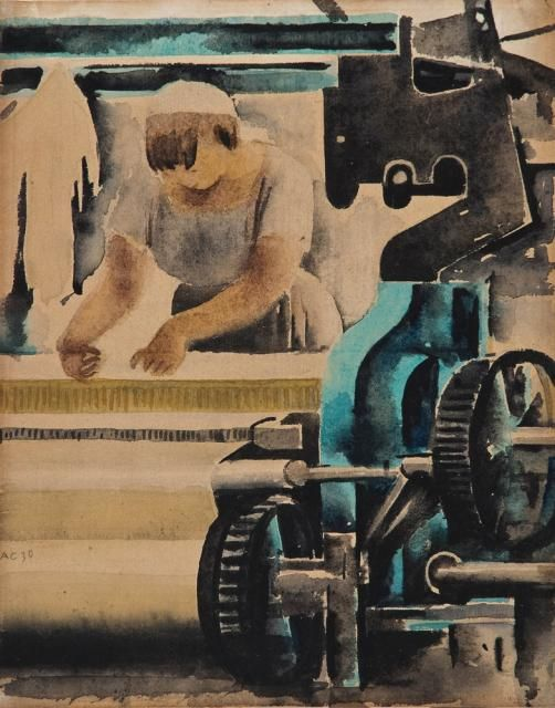 Самохвалов А.Н. Ткачиха. 1930