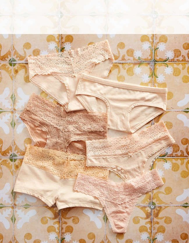 Find your favorites in our 7 for $27.50 panties sale! With all our super sweet and soft undie styles, Aerie for American Eagle has what you're looking for.