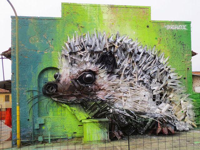 Trash Animals — Artur Bordalo http://www.bordaloii.com