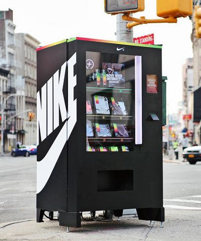 Nike - Vending Machine                                                                                                                                                      More