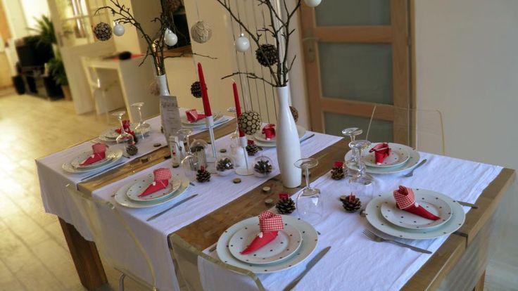 Table de fête esprit scandinave !