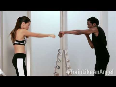 Train Like An Angel 2013: Full-Body Workout with Adriana Lima & trainer Michael Olajide Jr. | Victoria's Secret Sport