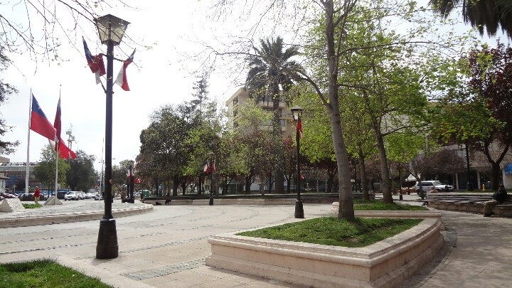 Plaza de Rancagua.