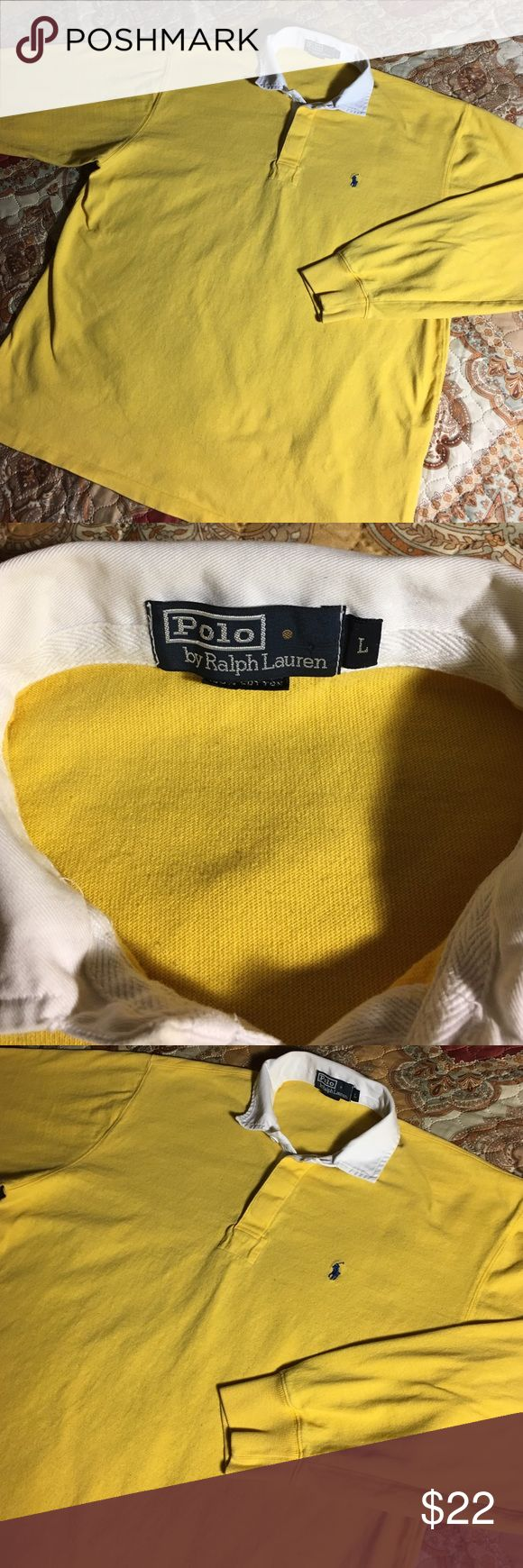 Vintage Ralph Lauren Polo Longsleeve Shirt Size Large - Nice condition Polo by Ralph Lauren Shirts Polos