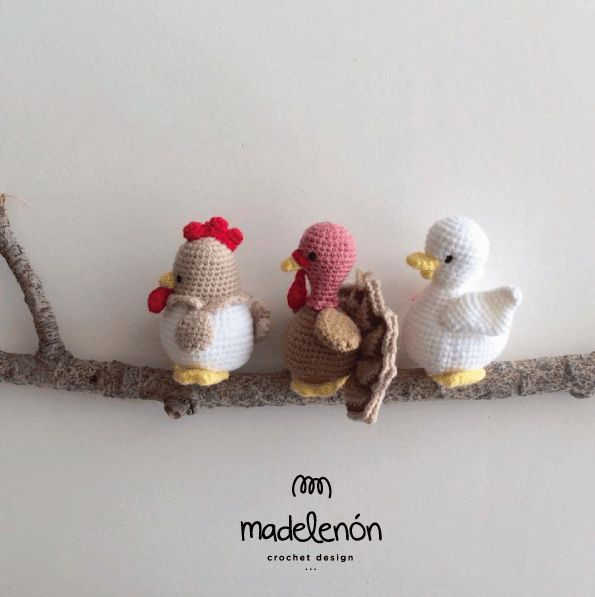 My Farm 2 amigurumi crochet pattern by Madelenon