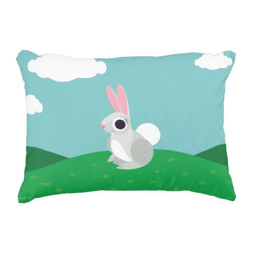 Alice the Rabbit. Regalos, Gifts. #cojín #pillow