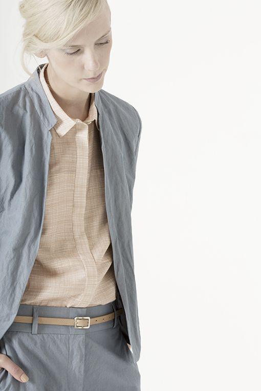 giacca BAILEE, camicia GIPSY, pantalone MABLE
