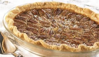 """Classic Pecan Pie, Karo Syrup  (Sarah's Facebook friend posted:  """"It's SO MUCH BETTER if you will substitute Griffin's Waffle syrup for the Karo. Trust me on this."""")  Making a note!"""